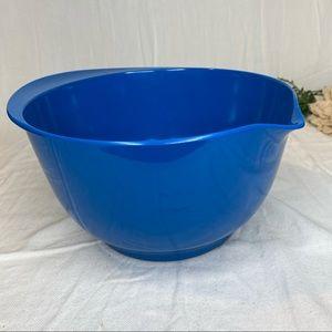 Sur La Table Blue Melamine Mixing & Batter Bowl